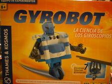 GYROBOT, CIENCIA DE LOS GIROSCOPOS, 7 MODELOS EN 1 EXPERIMENTOS DEVIR