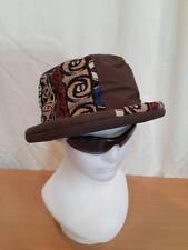 hippie hat BEANIE ROLL festival EGYPT cap cotton bucket BEACH GYPSY REGGAE Brown