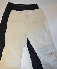 Lot of 2 VOLCOM/EMS-Eastern Mountain Sports Women's Outdoor/Hiking Cropped Pants