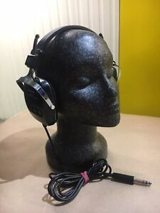 VINTAGE SONY DR-45 DYNAMIC STEREO HEADPHONES - WORKING
