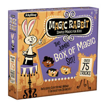 Jumbo BOX OF MAGIC 75 Trick Set Show Wand Card Learn Beginner Kit Kids 6+