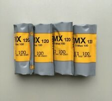 *EXPIRED* Kodak TMax 100 B&W Film 120/medium format (4 rolls)