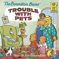 Berenstain Bears' Trouble With Pets, Paperback by Berenstain, Stan; Berenstai...