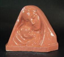 Keramik Madonna 1920 - gemarkt & signiert