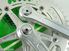 Campagnolo Crankset Gran Sport 1982 170mm 53 42 chainrings Vintage Bicycle NOS