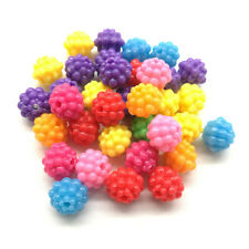 Mixed 40pcs Acrylic Charms Loose Beads Kid Jewelry DIY Accessories 10*9mm