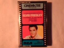 ELVIS PRESLEY Love me tender Jailhouse rock mc cassette k7 ITALY COLONNE SONORE