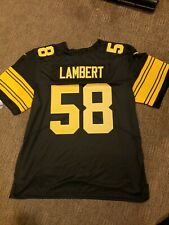 pittsburgh steelers #58 Jack  Lambert color rush jersey  sz xLarge
