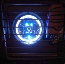 LAND ROVER DEFENDER 90, 110, LIGHT SET CRYSTAL CLEAR LED HALO HEADLAMPS BA070HC