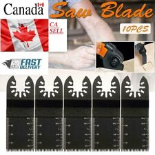 New Oscillating Multi Tool Saw Blades Carbon Steel Cutter Cut Blade For 10Pcs CA