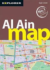Al Ain Map (City Maps), Explorer Publishing and Distribution, Very Good, Map