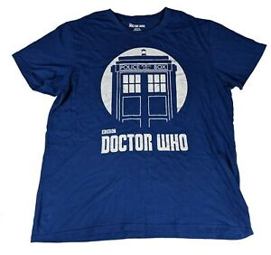 Doctor Who 2009 BBC Licensed TARDIS T-Shirt - Size XL