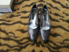 Vintage Silver Bally Wedge heeled shoes EU size 39.5, UK 6.5