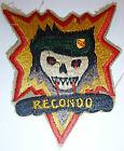 RECON COMMANDO - RECONDO - Patch - US Ranger - SHELL BURST - Vietnam War - 5643