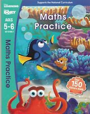 Finding Dory - Maths Practice, Age 5-6 Key Stage 1 Disney Learning Activity Book