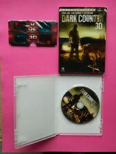 DVD DARK COUNTRY 3D avec lunettes 3D - 2010 - Thomas Jane - German - Perlman