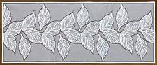 "Fancy Rectangular Floral Blanco, Encajes cuadro runner/overlay (24 ""x 59"") Regalo Perfecto"