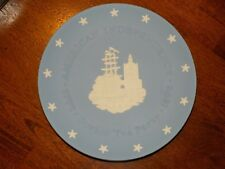Vintage Wedgwood Jasperware American Independence 1776 Boston Tea Party 1976