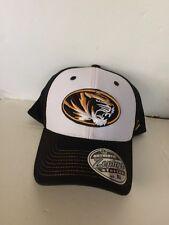 huge selection of c760a 92d5d Missouri Tigers Zephyr Bleacher Stretch fit hat XL Black White