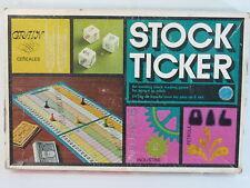 Stock Ticker 1970's Board Game Copp Clark 100% Complete Excellent Bilingual