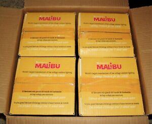 Lot of 4 Malibu Low Voltage 25 inch Metal Shaded Globe Lights 11w Model LT12S