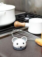 Kikkerland Mouse Kitchen Wind Up Egg Timer 60 Minute Countdown Manual Clock
