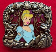 Disney Stained Glass Princess Series Cinderella LE-300 Pin RARE