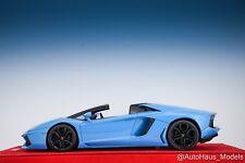 1/18 MR Collection Lamborghini Aventador LP-700 Baby Blue 01/01