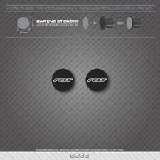 6033 - Felt Bicycle Handlebar Bar End Plug Stickers - Decals