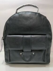 FRYE Olivia Black Leather Backpack NWT Authentic MSRP $ 248