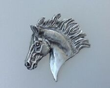 Horse charm, pendant, key chain pewter  Forge HIll Sculpture