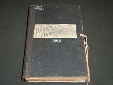 1910 PARK'S FLORAL MAGAZINE BOUND VOLUME - NICE ILLUSTRATIONS & ADS - KD 726M