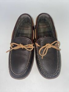 L.L. Bean Men's Slippers Moccasin 7 Men