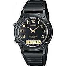 Plastic Case Analogue Round Wristwatches