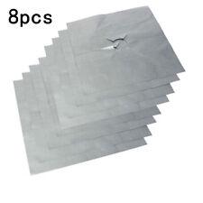 8Pcs ReusableGas Hob Protector Teflon Sheet Liner Non-Stick Easy Clean Z5H