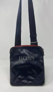 Hugo Boss Navy Envelope Man Cross Body Bag