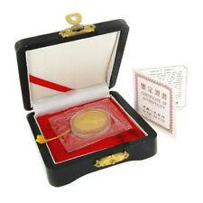 Édition Limitée 1991 50 Yuan Chinois Or Panda Pièce de Monnaie Piefort Boîte COA