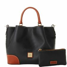 Dooney & Bourke Pebble Leather Brenna Satchel With Wallet No Strap