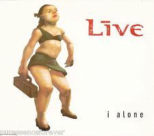 LIVE - I Alone (UK 3 Track CD Single)
