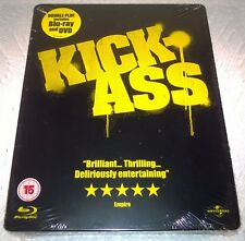 Kick-Ass (2010, UK, Region Free) Steelbook NEW