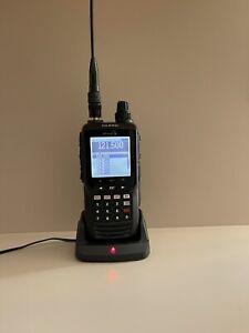 YAESU FTA-550 AIR BAND TRANSCEIVER HAM RADIO WALKIE TALKIE PREPPER CB FM UHF VHF
