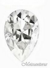 Loose Pear Shape Forever Classic 8x5mm Moissanite = 1ct Diamond w Certificate