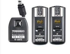 RF-602 Hot shoe Remote Flash Trigger + 2 Receivers For Nikon D5100 D7100 D3100