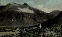 Bernau am Chiemsee  Postkarte 1956 gelaufen Gesamtansicht Blick gegen Hochgern