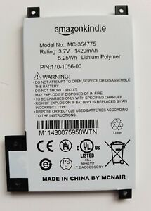 Battery Replacement Service for Amazon Kindle Touch Model D01200