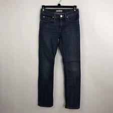Acne Women's Jeans Straight Leg Slim Cotton Stretch Stonewashed Denim Size 26