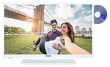 "Telefunken XH28A101D-W LED Fernseher 28"" Zoll TV DVD HD DVB-C/-T2/-S2 CI+ weiß"