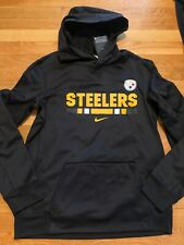 NIKE Pittsburgh Steelers Youth XLARGE Therma Fit Hoodie NFL Team Apparel XL NWT