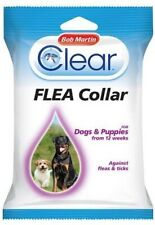 Bob Martin Clear Flea and Tick Repellent Protection Collar for Dogs and Puppies
