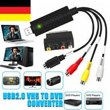 Videokassetten VHS auf DVD Konvertieren Digitalisieren USB-Adapter Für PC Laptop